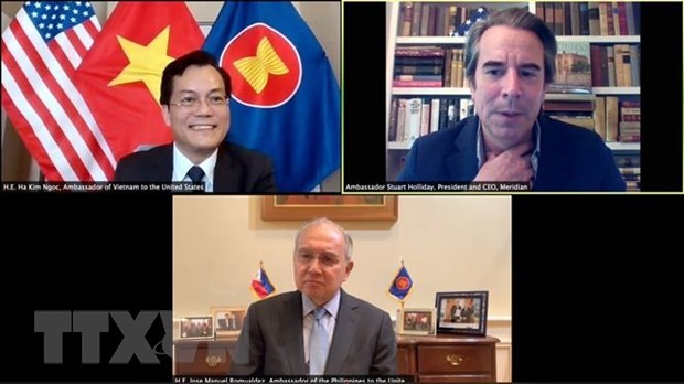 Badan usaha AS menaruh perhatian tentang langkah-langkah pemulihan ekonomi yang dijalankan Vietnam dan ASEAN - ảnh 1