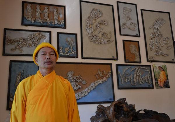 Biara Van Hanh di Kota Da Lat – tempat yang menyimpan lukisan-lukisan dari  batu - ảnh 1