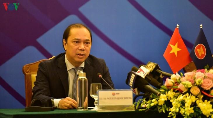 """Vietnam terus menjunjung tinggi tema: """"Berkaitan dan Cepat Tanggap"""" di KTT ke-36 ASEAN - ảnh 1"""