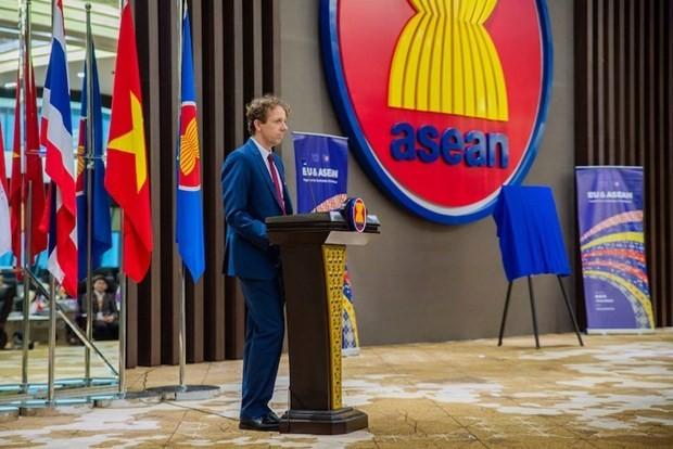 Dubes Uni Eropa di ASEAN mengapresiasi KTT ke-36 ASEAN dan hubungan kerja sama Uni Eropa-ASEAN - ảnh 1