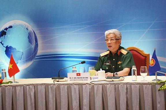 Konferensi online Jaringan Pusat-Pusat Penjagaan Perdamaian ASEAN - ảnh 1