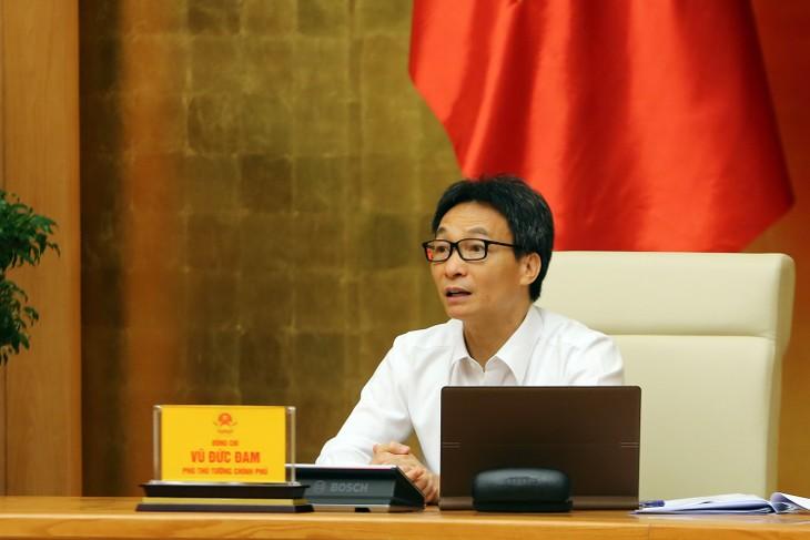 Sidang Badan Pengarahan Vietnam urusan Pencegahan dan Penanggulangan Wabah Covid-19 - ảnh 1