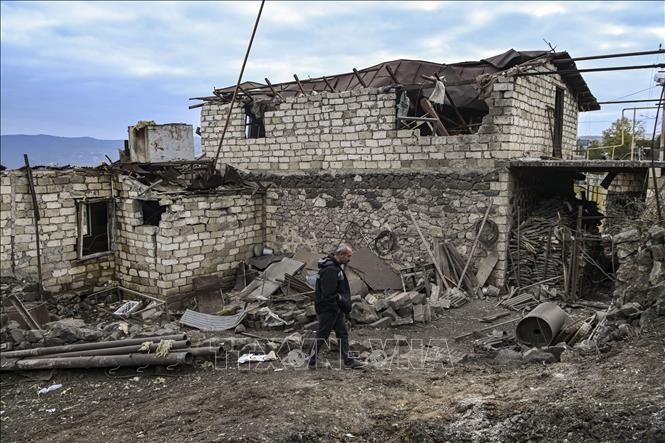 Bentrokan Nagorno-Karabakh: Pimpinan Rusia dan Turki untuk pertama kalinya mengadakan pembicaraan telepon - ảnh 1