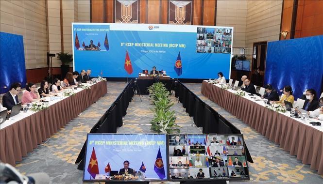 Media Jerman: RCEP mempunyai makna besar terhadap integrasi ekonomi kawasan Asia-Pasifik - ảnh 1