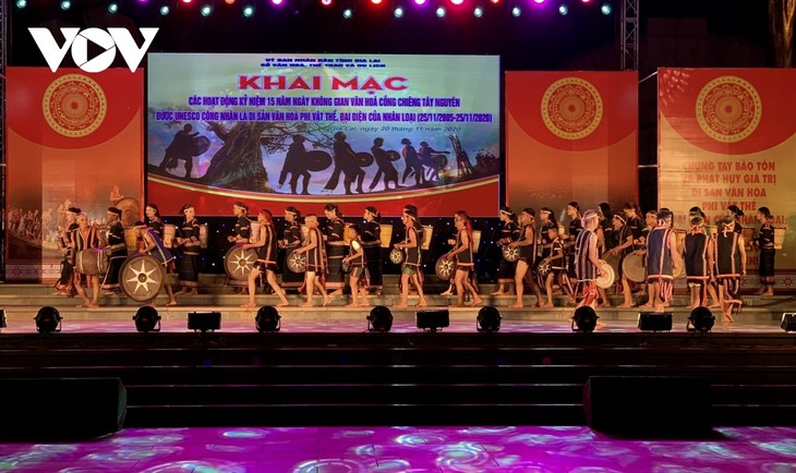 Provinsi Gia Lai Lestarikan Ruang Budaya Gong dan Bonang - ảnh 1