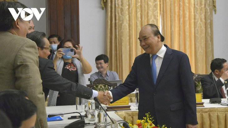 """PM Nguyen Xuan Phuc: """"Dialog 2045"""" Tunjukkan Aspirasi Tentang Sebuah Vietnam yang Perkasa - ảnh 1"""