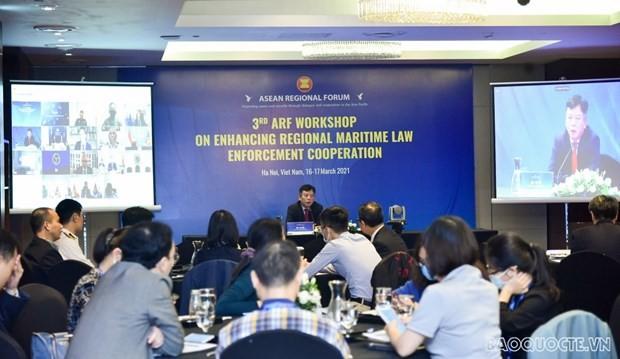 Lokakarya ARF  Ke-3 Tentang Kerja Sama Laksanakan Hukum Laut - ảnh 1