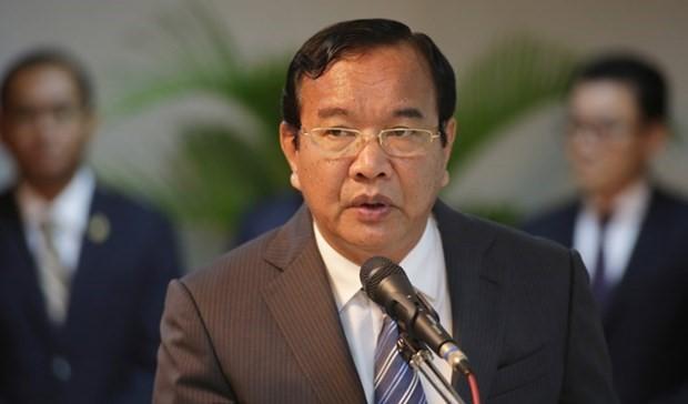 Kamboja Serukan Solidaritas Dalam Kerja Sama Mekong-Lancang Untuk Kendalikan Wabah Covid-19 - ảnh 1