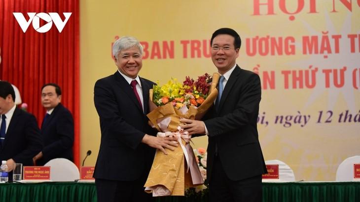 Do Van Chien Terpilih Menjadi Ketua Pengurus Besar Front Tanah Air Vietnam - ảnh 1