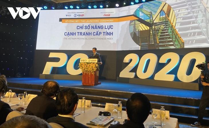 PCI 2020: Kualitas  Penyelenggaraan Ekonomi Tingkat Provinsi di Vietnam Dinilai Membaik Dratis  - ảnh 1