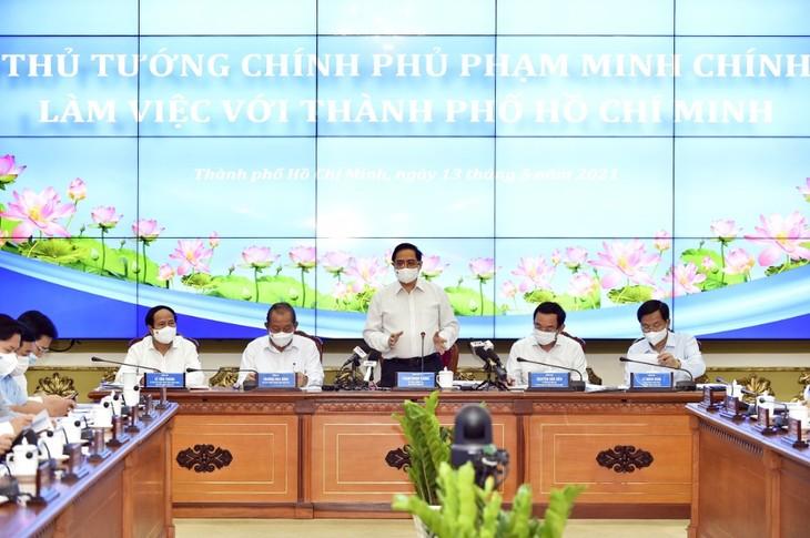 Kota Ho Chi Minh Rekomendasikan Adanya Mekanisme Khusus Untuk Kota Thu Duc - ảnh 1
