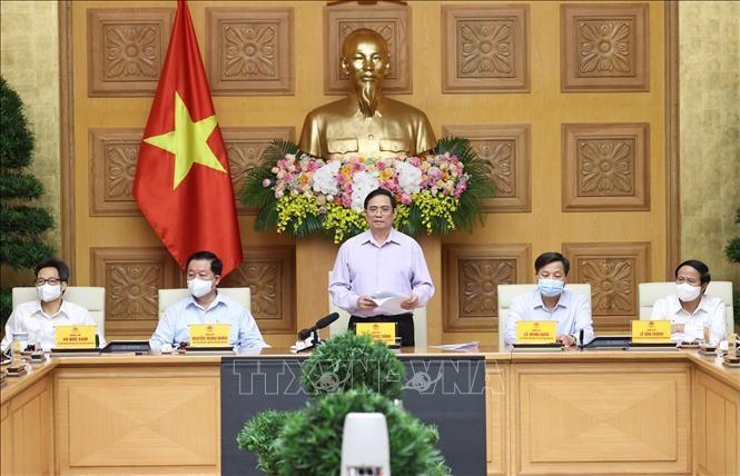 PM Vietnam  Adakan Sidang Kerja dengan Para Pemimpin Kantor Pemberitaan - ảnh 1