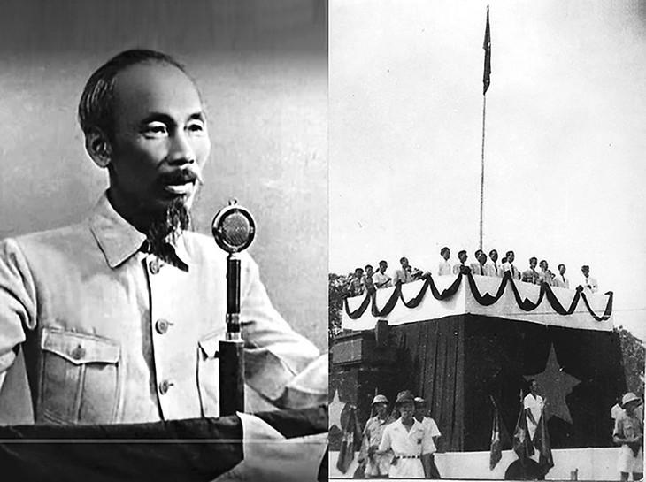 Peringatan HUT ke-76 Hari Revolusi Agustus (19/8/1945-19/8/2021: Ingatkan Hari-Hari Bulan Agustus yang Heroik  - ảnh 11