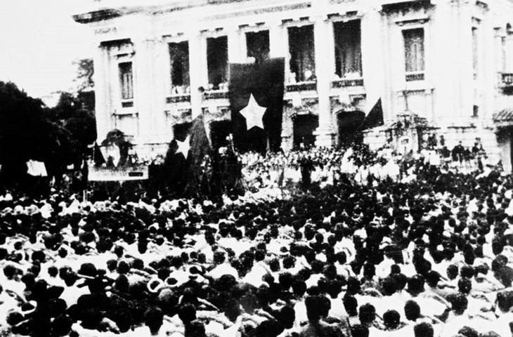 Peringatan HUT ke-76 Hari Revolusi Agustus (19/8/1945-19/8/2021: Ingatkan Hari-Hari Bulan Agustus yang Heroik  - ảnh 3