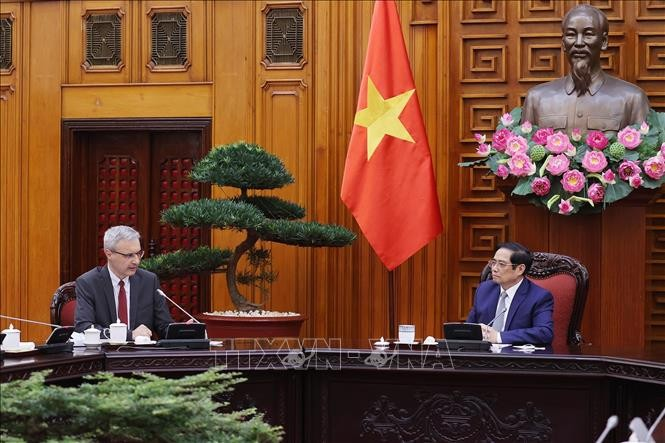 Perkuat Kerja Sama Vietnam-Perancis di Banyak Bidang - ảnh 1