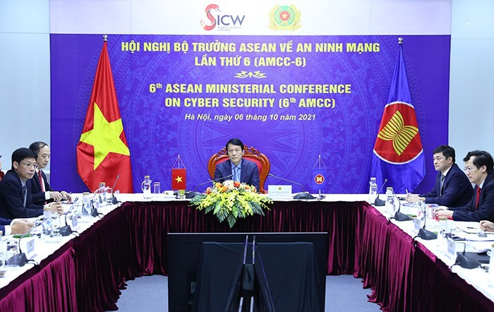 Mendorong Strategi Kerja Sama Keamanan Siber Kawasan ASEAN - ảnh 1