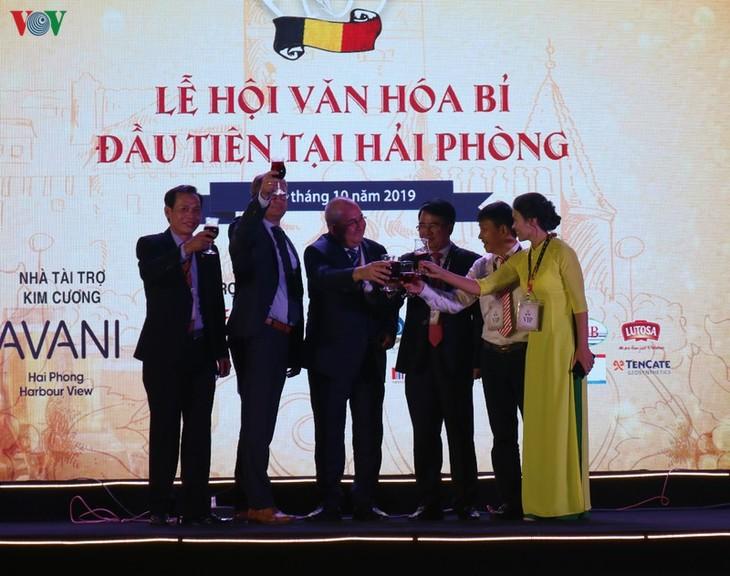 Un festival d'échanges culturel et économique Vietnam-Belgique à Haiphong - ảnh 1