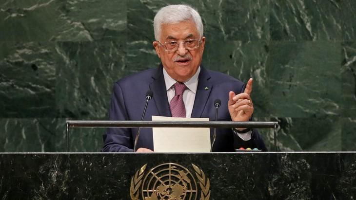 Le président palestinien exhorte la communauté internationale à mettre fin à l'escalade des tensions à Gaza - ảnh 1