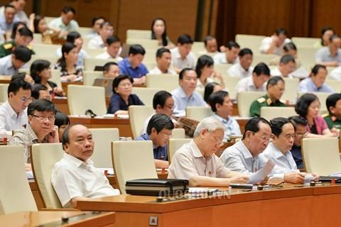 Le projet de loi sur les unités administratives et économiques spéciales au débat - ảnh 1
