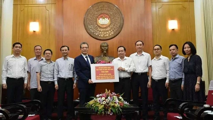 Overseas Vietnamese support COVID-19 fight in Vietnam  - ảnh 1