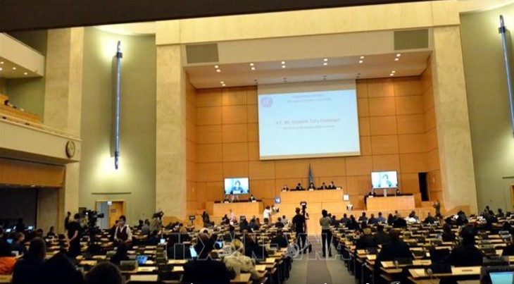 Vietnam attends UN Human Rights Council's 45th regular session - ảnh 1