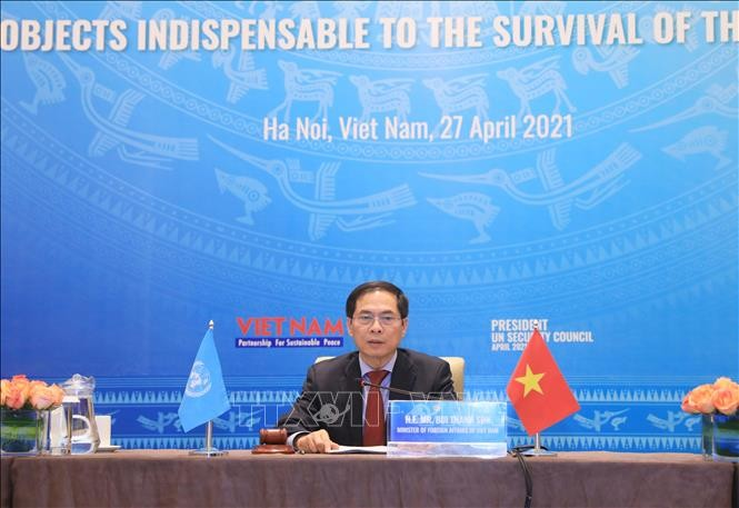 Vietnam chairs UNSC debate on protecting essential infrastructure - ảnh 1