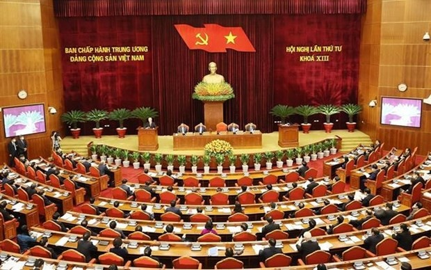 Party Central Committee discusses scores of pressing issues - ảnh 1