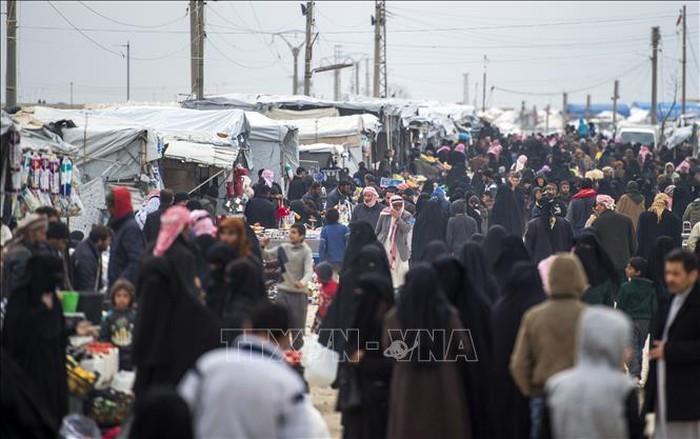 Konferensi ke-3 tentang bantuan keuangan bagi Suriah di Brussels, Belg - ảnh 1