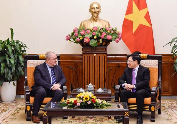 Mendorong hubungan ekonomi, perdagangan antara Vietnam dan Belgia - ảnh 1