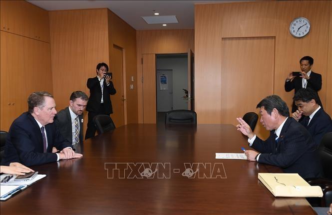 AS dan Jepang melakukan putaran perundingan dagang baru - ảnh 1