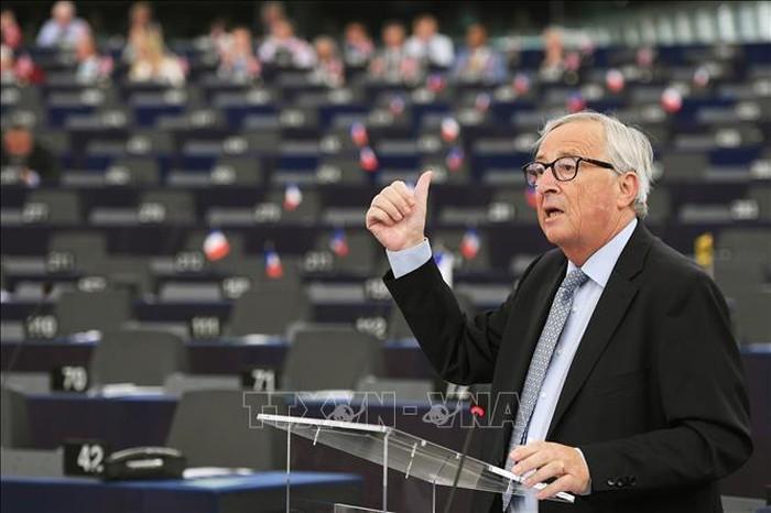 Masalah Brexit: Uni Eropa mengeluarkan pendangan resmi untuk memprotes rekomendasi Inggris - ảnh 1