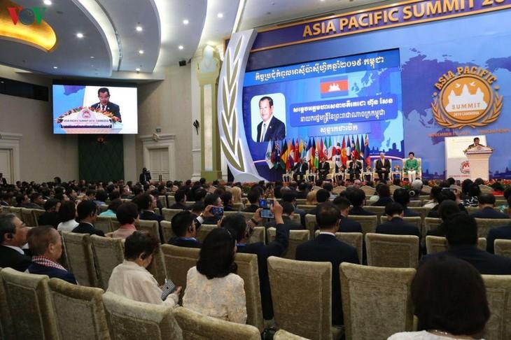 Pembukaan KTT Asia-Pasifik di Kamboja - ảnh 1