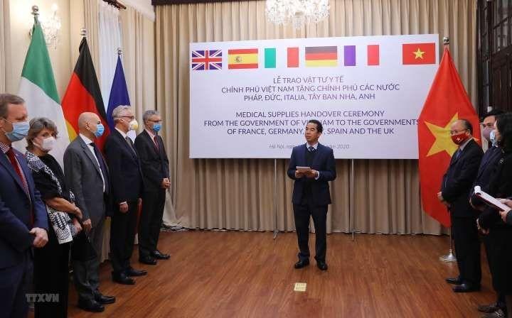 Media Jerman mengapresiasi Vietnam yang mendukung negara-negara Eropa melawan wabah Covid-19 - ảnh 1