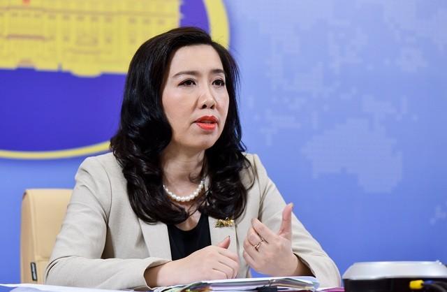 Jumpa pers periodik Kemlu Vietnam: Berupaya menjamin pekerjaan pelindungan terhadap warga negara di seluruh dunia - ảnh 1