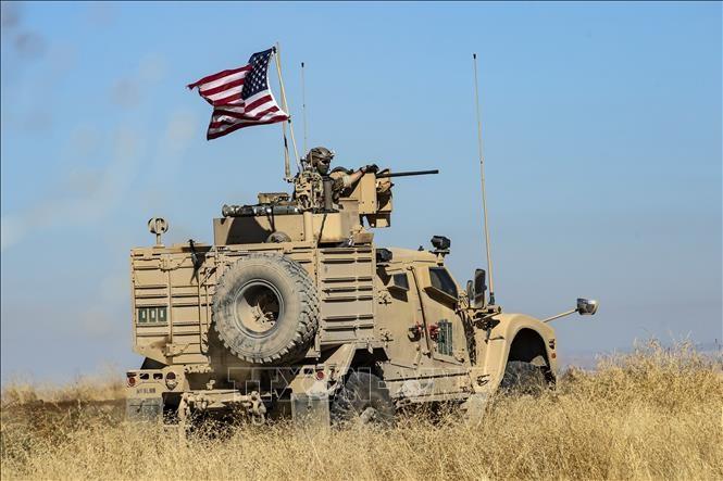 AS mengatur kembali peralatan militer di Suriah dan Irak - ảnh 1
