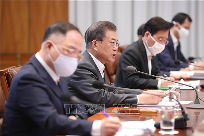 ASEAN 2020: Republik Korea menekankan arti pentingnya dari kerjasana internasional dalam melakukan isolasi dan dorongan ekonomi - ảnh 1