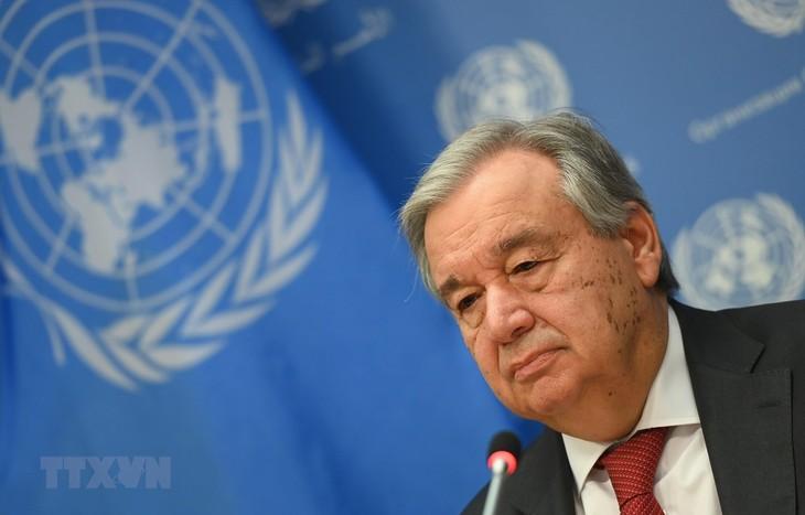 Sekjen PBB menegaskan perlu menjaga sumber-sumber daya untuk membantu WHO - ảnh 1