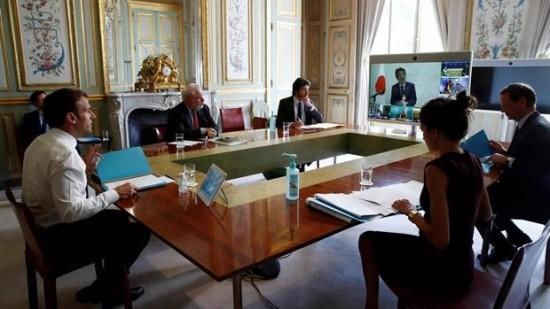 Kelompok G7 menyatukan pendirian tentang WHO dan pembukaan kembali perekonomian - ảnh 1