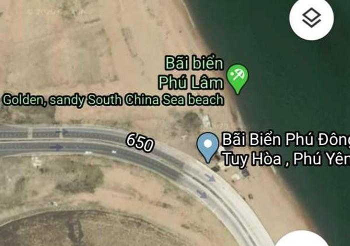 Membantah Google Maps yang memberikan informasi salah tentang pantai di Kota Tuy Hoa, Provinsi Phu Yen - ảnh 1