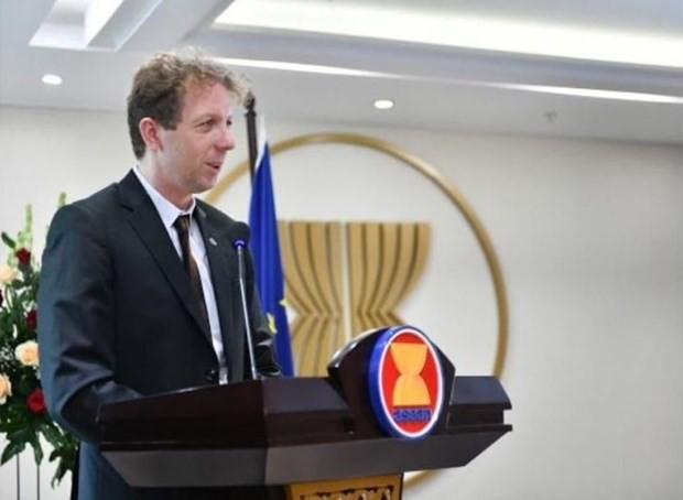 Uni Eropa mengkhawatirkan tindakan-tindakan sepihak di Laut Timur - ảnh 1