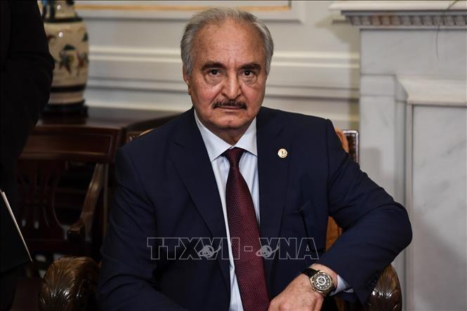 Jenderal Haftar menyatakan akan menyelenggarakan negeri Libia - ảnh 1
