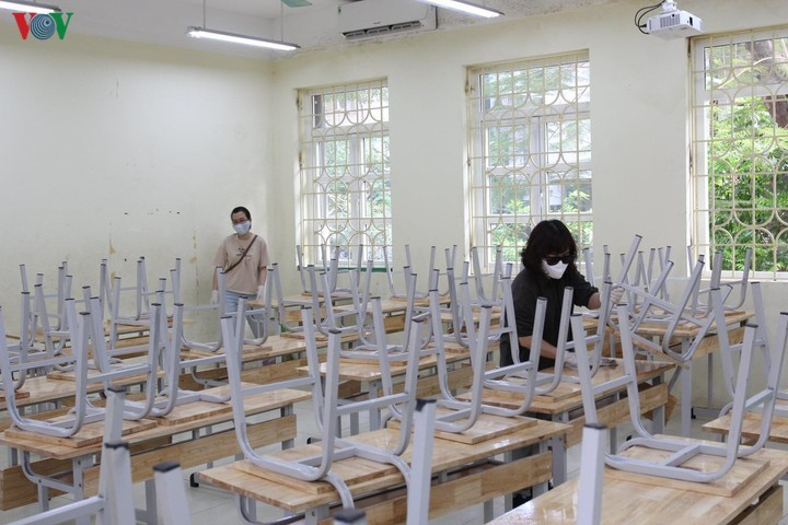 Semua daerah siap menyambut para pelajar kembali sekolah mulai Senin (4 Mei) - ảnh 1