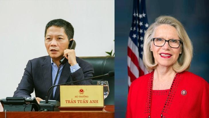 Vietnam dan AS mendorong kerjasama dalam menggerakkan kembali perekonomian - ảnh 1