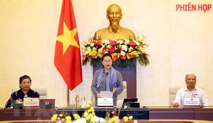 Pembukaan persidangan ke-45 Komite Tetap MN Vietnam - ảnh 1