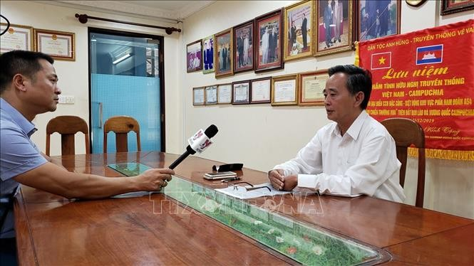 Lebih dari 3.000 keluarga keturunan Vietnam di Kamboja mendapat bantuan dalam wabah Covid-19 - ảnh 1