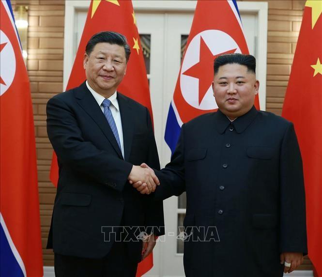 Tiongkok berkomitmen terus mendorong hubungan dengan RDRK lebih lanjut lagi - ảnh 1