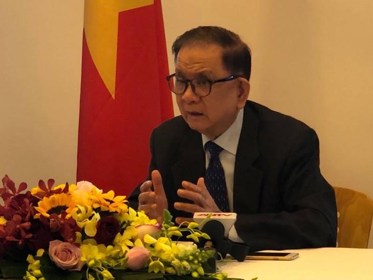 Terus menerapkan pikiran diplomatik Ho Chi Minh di periode baru - ảnh 1