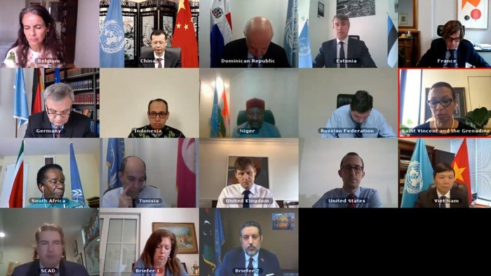 DK PBB melakukan persidangan tentang situasi eskalasi di Libya pada bulan Ramadan - ảnh 1