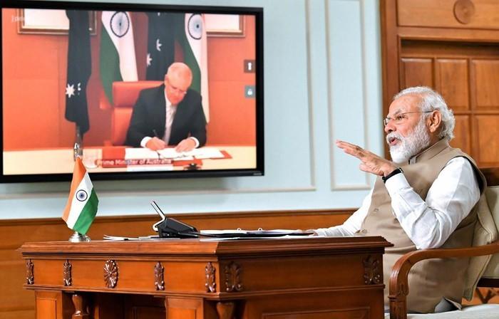 Australia dan India mendorong kerjasama pertahanan - ảnh 1