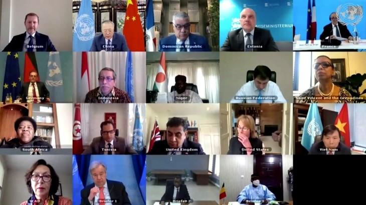 Vietnam berseru supaya melindungi warga untuk memecahkan tantangan-tantangan Mali di Dewan Keamanan - ảnh 1